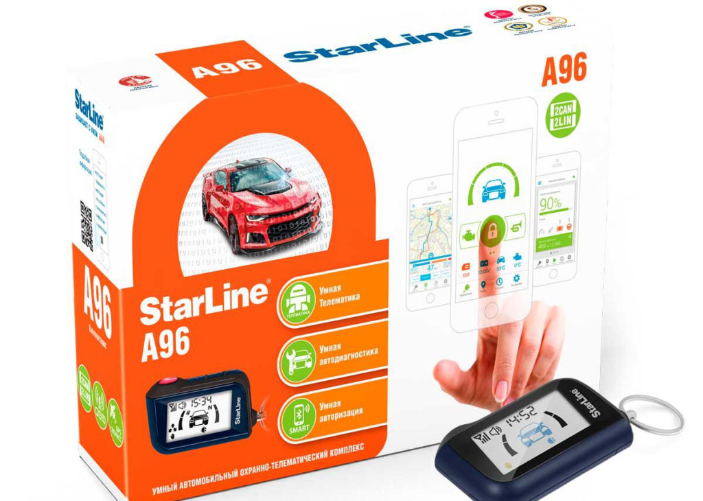 StarLine S96 BT 2CAN+2LIN GSM/GPS+ГЛОНАСС