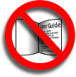 do not take the serial from a user guide