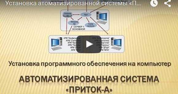 Видеоурок Установка Приток-А